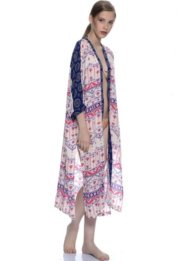 Mink Pink Kimono Krem